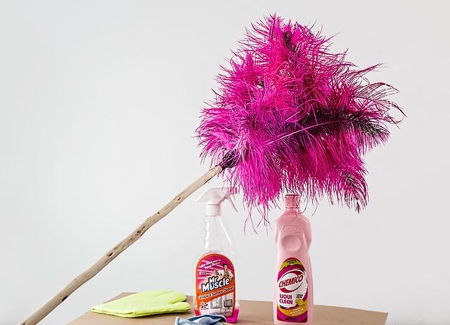 peří duster a čističe
