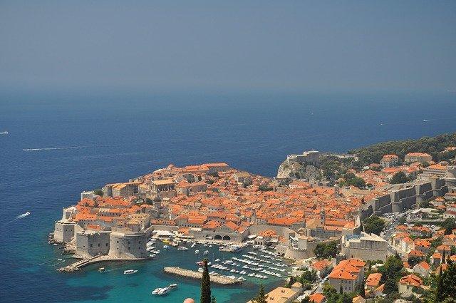 část Chorvatska