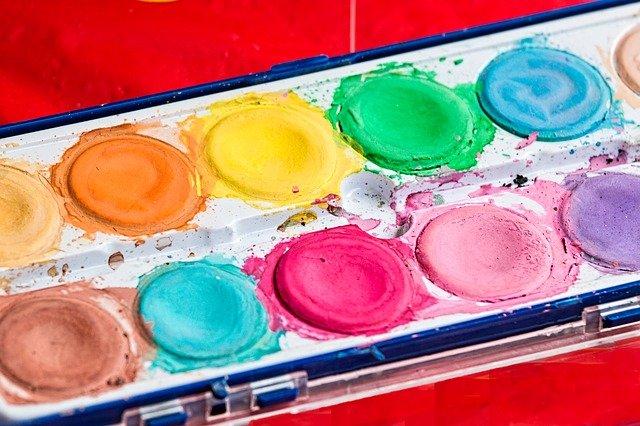 paleta barviček