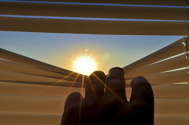 sledování slunce