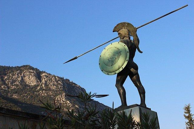 řecký bojovník